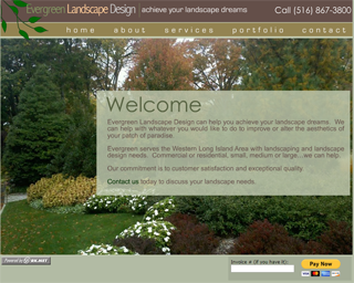 click to visit: Evergreen Landscape Design