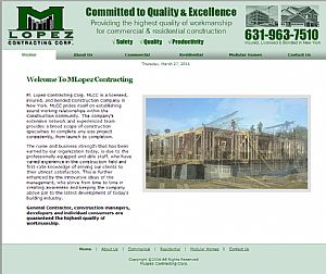 click to visit: MLopez Contracting