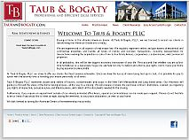click to visit: Taub and Bogaty